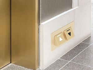 Foot-Activated Elevator Call Buttons