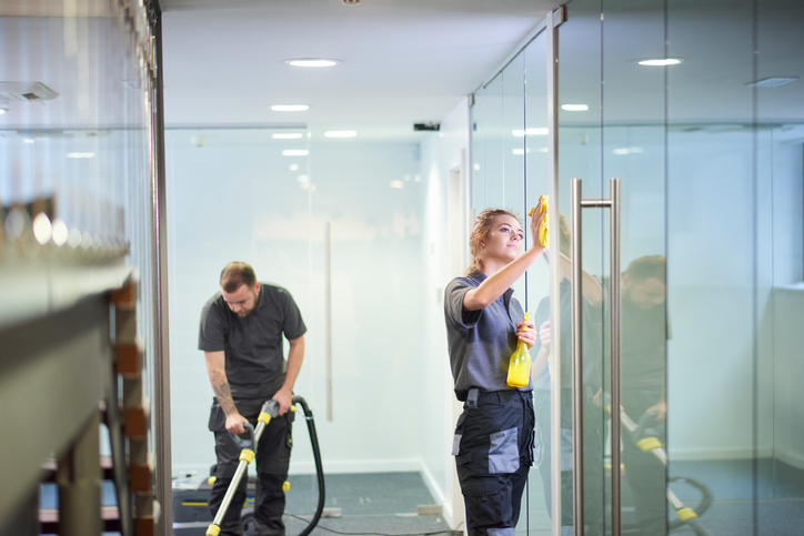 Cleaning Business Grasps Transcendence