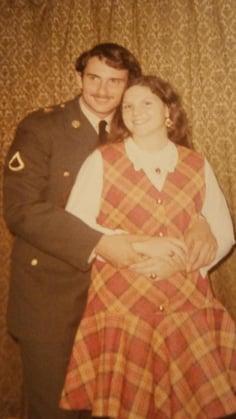 Veterans Day Engagement Photo